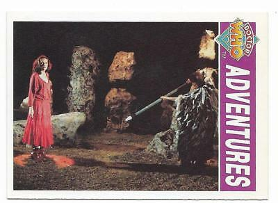 1994 Cornerstone DR WHO Base Card (30) Adventures