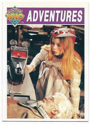 1994 Cornerstone DR WHO Base Card (33) Adventures