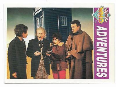 1994 Cornerstone DR WHO Base Card (4) Adventures