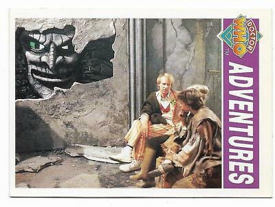 1994 Cornerstone DR WHO Base Card (42) Adventures