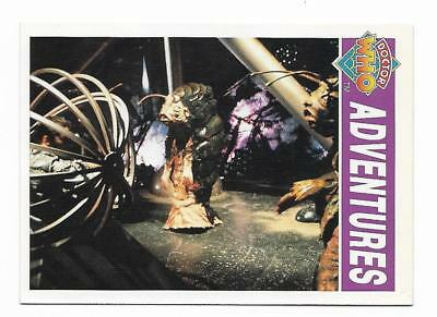 1994 Cornerstone DR WHO Base Card (43) Adventures
