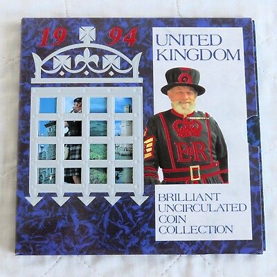 1994 ROYAL MINT 8 COIN BRILLIANT UNCIRCULATED SET - sealed pack