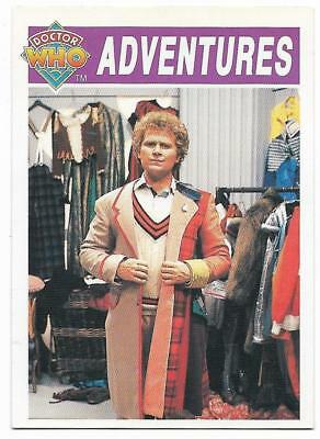 1994 Cornerstone DR WHO Base Card (45) Adventures