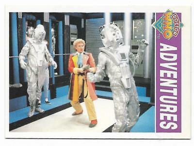 1994 Cornerstone DR WHO Base Card (46) Adventures