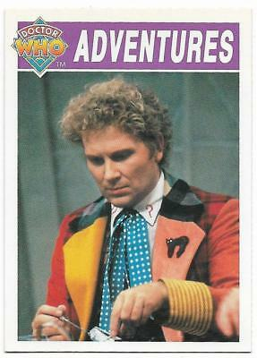 1994 Cornerstone DR WHO Base Card (47) Adventures