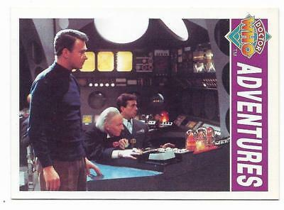 1994 Cornerstone DR WHO Base Card (5) Adventures