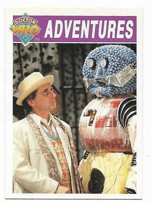 1994 Cornerstone DR WHO Base Card (54) Adventures