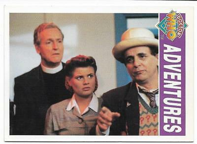 1994 Cornerstone DR WHO Base Card (57) Adventures