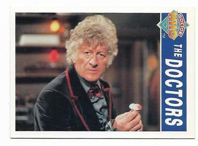 1994 Cornerstone DR WHO Base Card (64) The Doctors