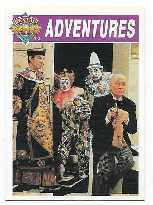 1994 Cornerstone DR WHO Base Card (7) Adventures