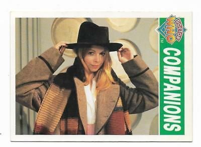 1994 Cornerstone DR WHO Base Card (81) Companions