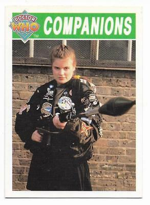 1994 Cornerstone DR WHO Base Card (84) Companions
