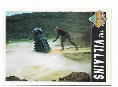 1994 Cornerstone DR WHO Base Card (86) The Villains