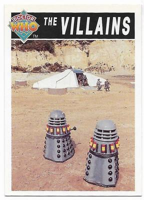 1994 Cornerstone DR WHO Base Card (87) The Villains