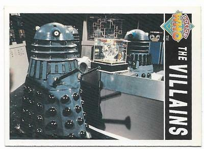 1994 Cornerstone DR WHO Base Card (89) The Villains