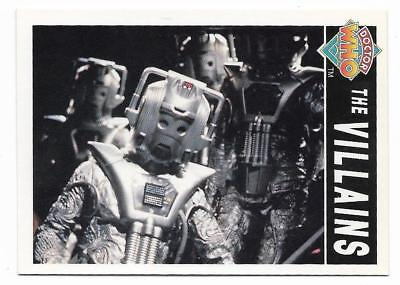 1994 Cornerstone DR WHO Base Card (92) The Villains