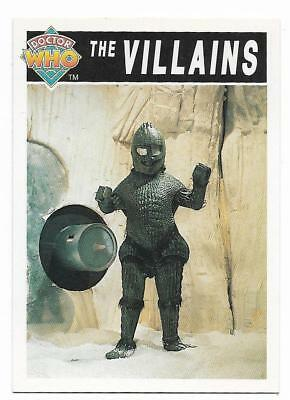 1994 Cornerstone DR WHO Base Card (94) The Villains