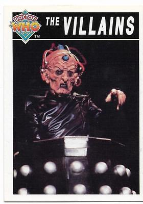 1994 Cornerstone DR WHO Base Card (97) The Villains