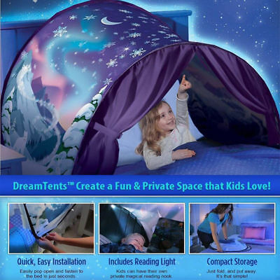 Hot Kids Dream Tents Winter Snowflake Foldable Tent Camping Outdoor Baby Tents