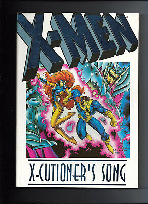 X-MEN: X-Cutioner's Song - Marvel TPB Graphic Novel (1st Printing, 1994)