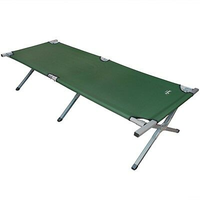Aluminium Camp Bed Camping Bed 150 kg load capacity up to 210 cm long