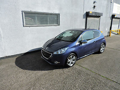 14 Peugeot 208 1.2 VTi Allure Damaged Salvage Repairable Cat N