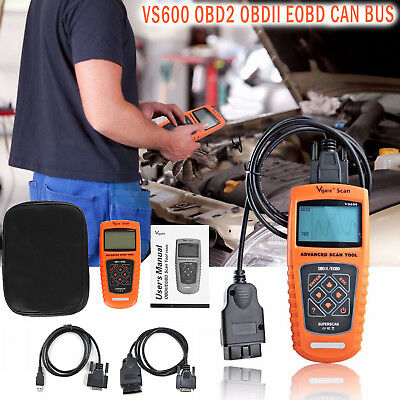 Vgate Scan VS600 OBD2 EOBD CAN BUS Car Fault Code Scanner Diagnostic Scan Tool
