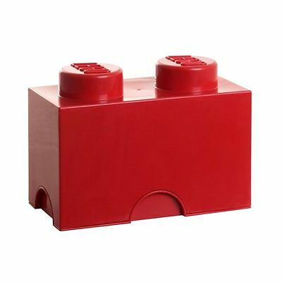 Lego Storage Box Red 2 Brick Toy Storage Kids Furniture Playroom Toy Box
