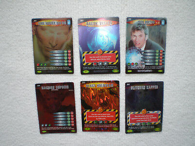 Dr Who Battles In Time Cards X 6 Rare Annihilator
