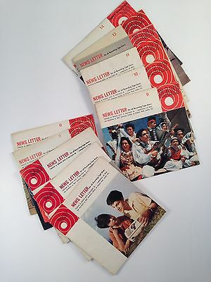 BASF Newsletters No.2, No.4-14 Collection Audiophile Magazines Reel to Reel HTF