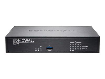 NEW! Sonicwall 01-SSC-1702 Tz300 Advanced Edition Security Appliance With 1 Year