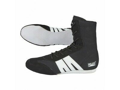 Pro Box Boxing Boots Adult Mens Womens Black Gym Training Boxing Shoes Low Cut