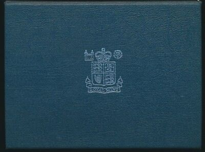 Great Britain 1984 Royal Mint 8 coin Proof Set Includes Certificate & Outer Box