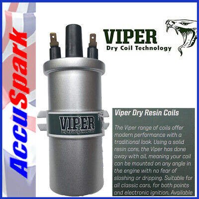 Viper 12v Dry High Performance Ignition Coil, Replacment for the Lucas DLB105