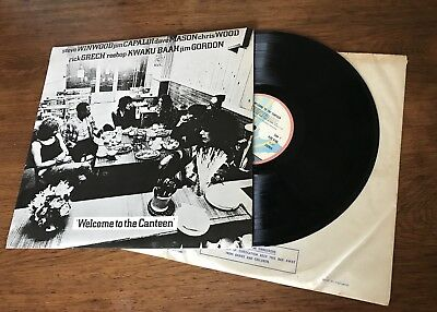 Steve Winwood Jim Capaldi Dave Mason TRAFFIC WELCOME TO THE CANTEEN LP EX/EX