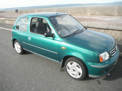 2002 NISSAN MICRA 1.0 S.  One lady owner from new, only 26,768 miles