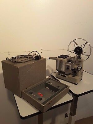 Vintage Collectable Eumig Wien Type P8 Phonomatic 8mm movie projector