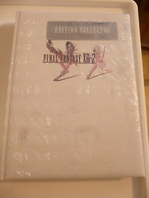 Guide Officiel Final Fantasy Xiii-2  Edition Collector Limitée Neuf/scelle