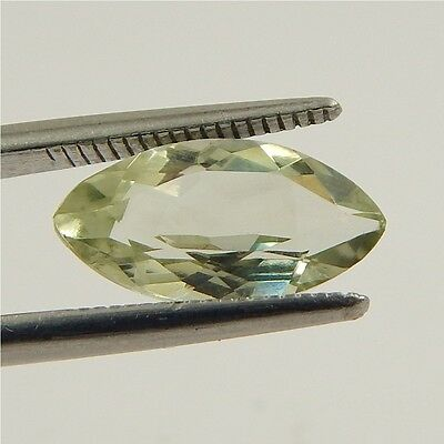 2.8 cts Natural Green Amethyst Gemstone Must See Loose Cut Faceted R#192-4