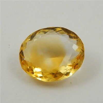 21.1 cts Natural Yellow Citrine Gemstone Beautiful Loose Cut Faceted R#260-31