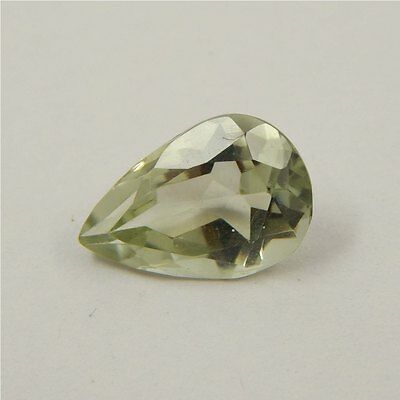 3.5 cts Natural Green Amethyst Gemstone Must See Loose Cut Faceted R#192-14