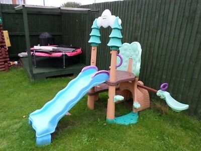 Little Tikes Slide with Sea-saw Activity Toy