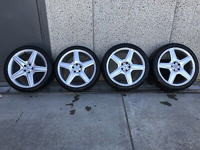 "20"" INCH AMG MERCEDES BENZ S LINE WHEELS 2005 To 2012 TYRES MAGS RIMS"
