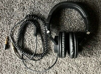 Audio Technica ATH-M50 Monitor Over-Ear Headphones - Black