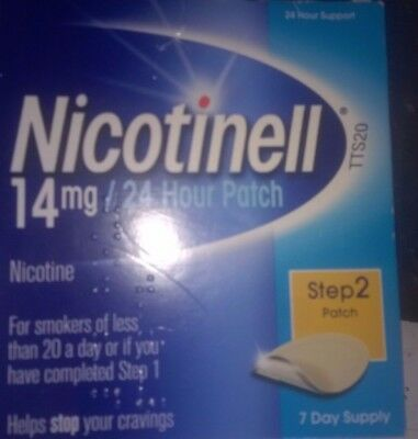 nicotinell 14mg patches 3boxes