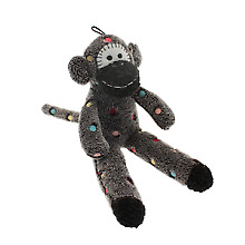 PET-296032 - Happy Pet Sock Monkey sgl