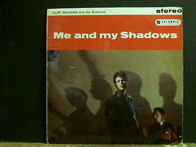 CLIFF RICHARD AND THE SHADOWS  Me and My Shadows  LP  STEREO  UK   RARE !