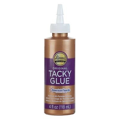 Aleene's Original Tacky Craft Glue 4oz - BUY 4 GET 2 FREE - PLACE 6 IN BASKET