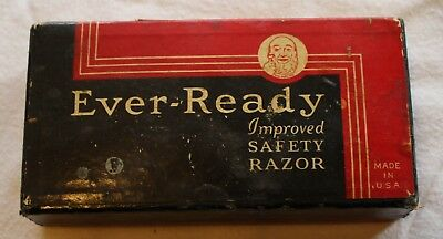 Ever-Ready Safety Razor In Box, Vintage