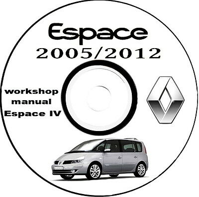 Workshop Manual,Manuale Officina Renault ESPACE IV